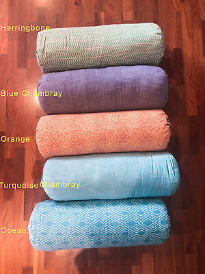 100% Organic Cotton Yoga Bolsters Stretch Now BRAND NEW NEVER USED! Pick Up only