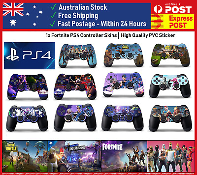 Fortnite Battle Royale PS4 Skin for Controller Playstation Sticker Wrap Decal