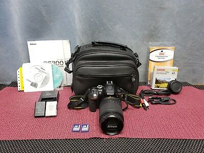 NIKON D5300 DIGITAL SLR CAMERA W/ DX VR AF-S NIKKOR 18-140mm 1:3.5-5.6 LENS
