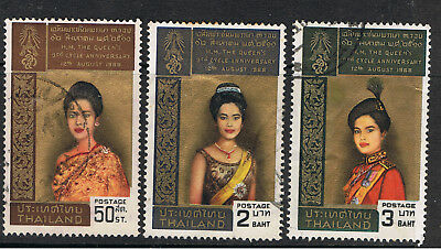 Thailand 1968 Portraits Of Queen Sirikit