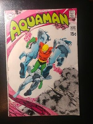 Aquaman #52 White Pages 🐼 1970