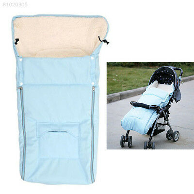 1AC1 Warm Removable Fleece Infant Baby Stroller Pushchair Sleeping Bag Footmuff