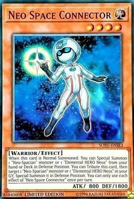 Yugioh Neo Space Connector Super Rare SOFU Mint