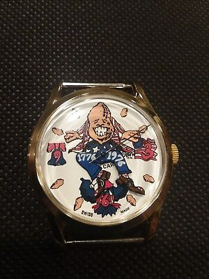 Jimmy Carter Peanut Watch & Band- 1976 Political Collectable- never worn