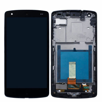 DISPLAY LCD+TOUCH SCREEN per LG Google NEXUS 5 D820 D821 VETRO SCHERMO NERO