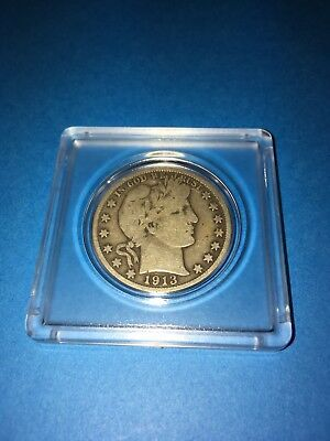 1913-S Barber Silver Half Dollar * Better Date Low Mintage * Solid Quality