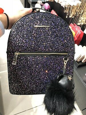 471cea9533 NWT! HOT! ALDO Auricelle Backpack Glitter detailling Black -  99.99 ...