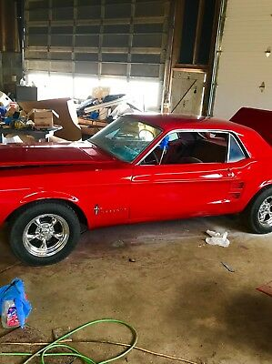 1967 Ford Mustang 2DHT 1967 Mustang. New paint and many new parts
