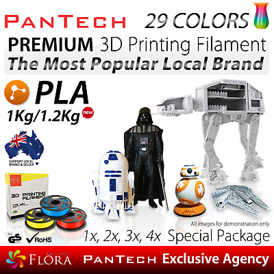 7000+ Sold PanTech PLA 3D Printing Filament 1Kg, 1.2Kg Printer Top Quality ORG