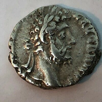 177-192 AD Commodus Silver Denarius Coin Roman Empire