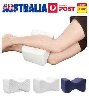 Memory Foam Leg Pillow Cushion Hips Knee Support Pain Relief w/ Washable Cover