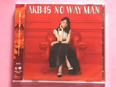 """AKB48 53rd Single """"NO WAY MAN"""" Theater Edition CD only, #1118"""