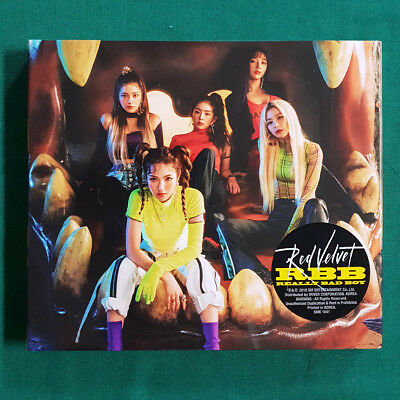 [Pre-Owned/ No Photocard] Red Velvet RBB The 5th Mini Album - CD/ Booklet