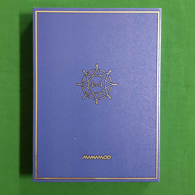 [Pre-Owned/ No Photocard] Mamamoo BLUE;S 8th Mini Album - CD/ Booklet