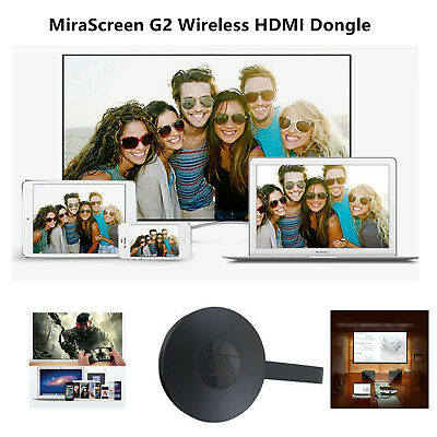1*MiraScreen G2 HDMI Wireless TV Dongle Ultimate1080P HDMI WiFi Display Receiver
