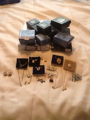 Mixed Lot Of Mostly Vintage Necklaces Costume jewellery ..unworn & A Few  Boxes