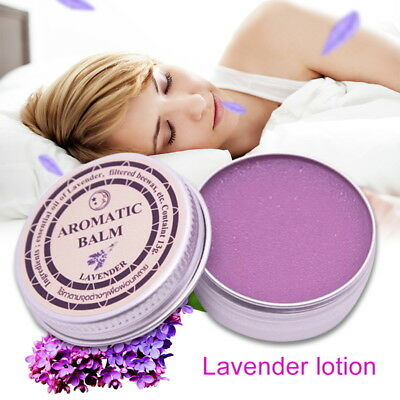 Lavender Aromatic Balm Help Sleep Soothing Cream Essential Oil Insomnia
