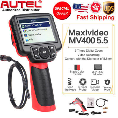 Autel Maxivideo MV400 Digital Videoscope 5.5mm Engine Scanner Inspection Camera