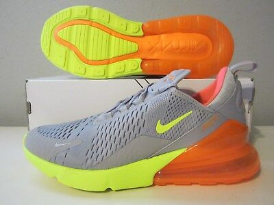 (AH8050 012) DS Nike Air Max 270 atmosphere grey/volt sz 11 Mens