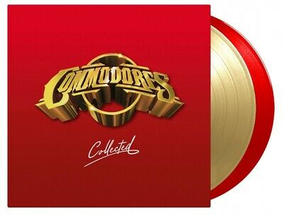 Commodores Collected MOV ltd #d 180gm RED / GOLD vinyl 2 LP g/f NEW/SEALED