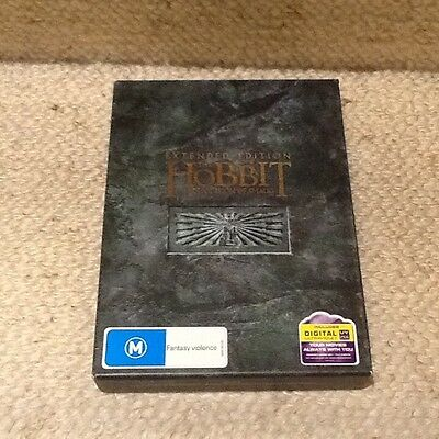 Hobbit - Extended edition - The Desolation of Smaug (DVD, 2014, 5-Disc Set)
