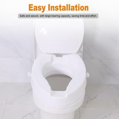 Admirable New Style Hinged Elevated Toilet Seat Riser Select Round Pdpeps Interior Chair Design Pdpepsorg