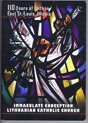 Lituanian Catholic Church history East St. Louis Ill. Immaculate Conception 2005