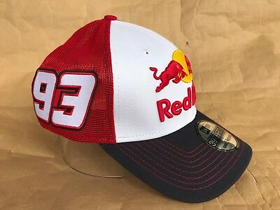 e6bada0ced9 Red Bull Athlete Only! Marc Márquez MM93 Hat Trucker Cap by New Era 39THIRTY