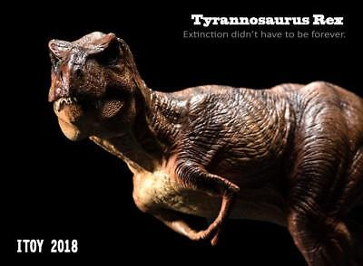 ITOY Jurassic World Dinosaur model Tyrannosaurus Rex HOT FIGURE TOYS in stock