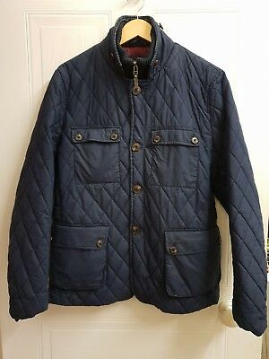 7abb59ac93f5e Men s Navy TED BAKER Quilted Jacket - Size ...