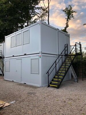 4 No 20ft x 8ft Portable / flatpack office units