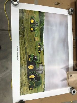 JOHN DEERE ART PRINT - SEIZE THE OPPORTUNITY by Steve Carter, 3638 of 5000