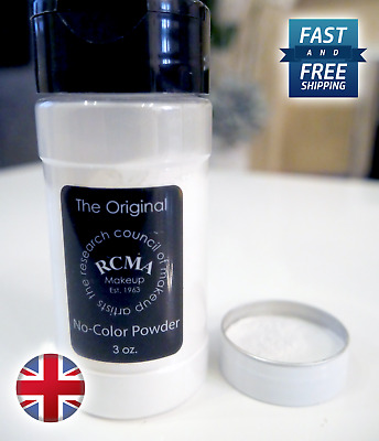 RCMA, No Colour Powder - 2.5g / 5g - Sample Sizes / Setting Powder