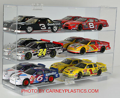 NASCAR Diecast Display Case 6 car 1:24