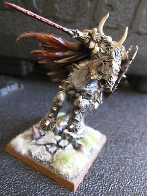 Warhammer Age of Sigmar Warriors of Chaos Metal Lord Archaon Everchosen OOP