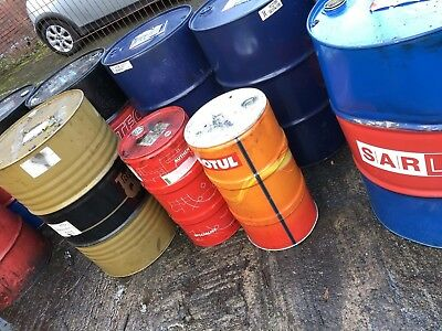 Used Oil Drum,Drum, 60 litres, fire bin, bbq, oil drum seat, not full size