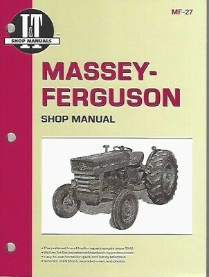 Tractor Workshop Manual for MF135 and 165 Tractors