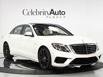2016 S-Class AMG S63 $164K MSRP White/White 2016 MERCEDES BENZ S63 $164K MSRP
