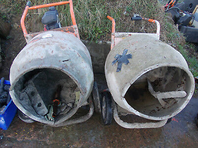 2 Belle cement mixers for spares/ repair