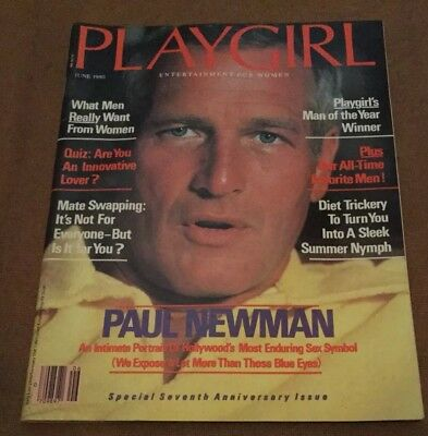 PLAYGIRL MAGAZINE SPECIAL 7th ANNIVERSARY ISSUE.JUNE 1980.PAUL NEWMAN COVER