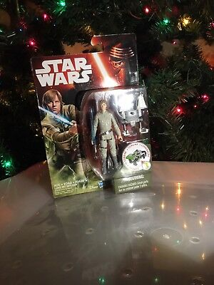 "NEW Hasbro Star Wars The Force Awakens 3.75"" Action Figure Luke Skywalker 2015"