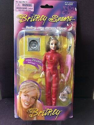 """Play Along 2000 Britney Spears Doll - oops I did it again - 6"""" #23000 - RARE"""