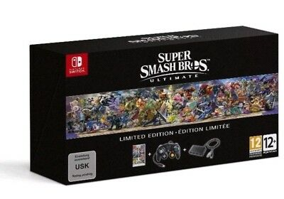 Super Smash Bros Ultimate Limited Edition (Nintendo Switch) New