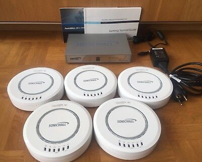 KIT WIRELESS. SONICWALL TZ210 + 5 ANTENAS SONICPOINT Ni
