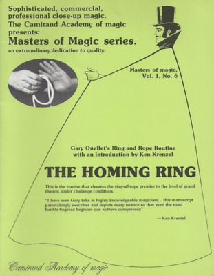 """""""The Homing Ring"""" Ring & Rope Routine by Gary Ouellet"""