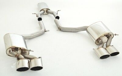 Nil Duplex Performance Exhaust System Mercedes W204 C63 AMG Saloon T Model Coupe