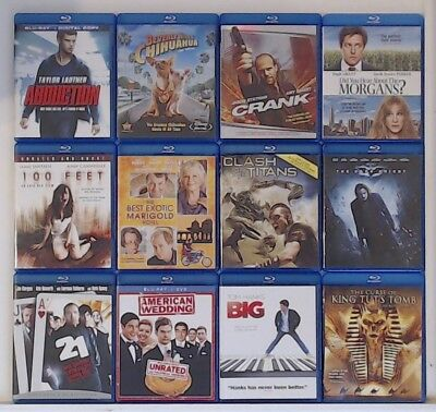 Blu-ray Movies $3.59 ea! Shipping $1.99 on the first, FREE ea. additional