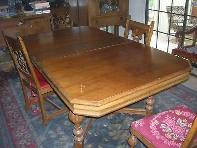 Antique dining Room 8 Piece Set