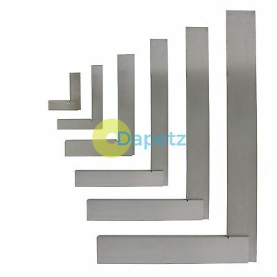 "4"" (100mm) 6"" (150mm) 8"" (200mm) 12"" (300mm) Engineers Polished Steel Set Square"