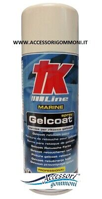 GELCOAT SPRAY VERNICE SPECIALE PER RITOCCO GELCOAT 400ml 478999 PER GOMMONE BARC